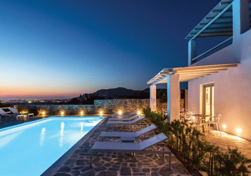 Seven Suites Resort in Naxos